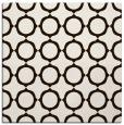 rug #465041   square brown circles rug