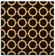 rug #465044 | square circles rug
