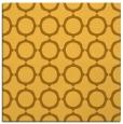 rug #465049 | square light-orange circles rug