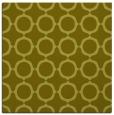 rug #465065 | square light-green circles rug