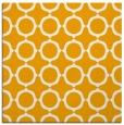 rug #465081 | square light-orange circles rug