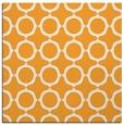 rug #465093 | square light-orange circles rug