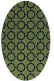 rug #465134 | oval circles rug