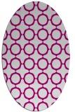 rug #465197 | oval circles rug