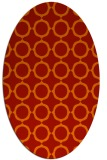 rug #465341   oval red circles rug