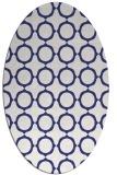 rug #465377   oval white circles rug