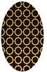 rug #465396 | oval circles rug