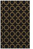 rug #465469 |  mid-brown circles rug
