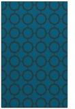rug #465529 |  blue-green circles rug