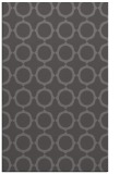 rug #465597 |  mid-brown circles rug