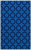 rug #465617 |  blue circles rug