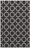 rug #465649 |  orange circles rug