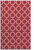 rug #465665 |  pink circles rug