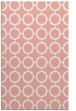 rug #465669 |  pink popular rug