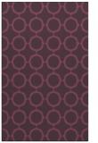 rug #465673    purple circles rug