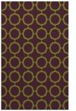 rug #465677    purple circles rug