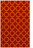 rug #465693    red circles rug