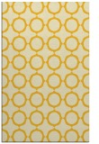 rug #465737 |  yellow circles rug