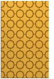 rug #465753 |  light-orange circles rug