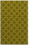 rug #465769    light-green circles rug