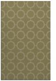 rug #465773    light-green circles rug