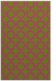 rug #465777    light-green circles rug