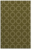 rug #465781 |  light-green circles rug