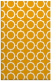 rug #465785 |  light-orange circles rug