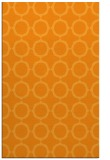 rug #465793 |  light-orange circles rug