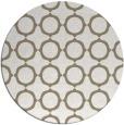 rug #465801 | round beige rug