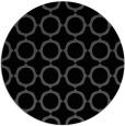 rug #465809 | round black circles rug