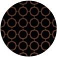 rug #465817 | round brown popular rug