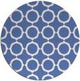 rug #465841 | round blue circles rug
