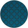 rug #465881   round blue circles rug