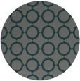 rug #465929 | round green circles rug