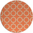rug #465997 | round beige circles rug