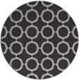rug #466001 | round red-orange circles rug