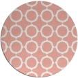 rug #466021 | round white popular rug