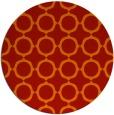 rug #466045   round red circles rug