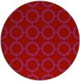 rug #466053 | round red circles rug