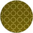 rug #466121   round light-green circles rug