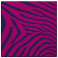 rug #471813 | square blue stripes rug