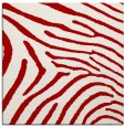 rug #472025 | square red rug