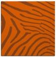 rug #472049 | square red-orange animal rug