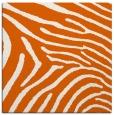 rug #472053 | square red-orange stripes rug