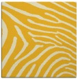 rug #472073 | square yellow animal rug