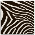 rug #472081 | square brown animal rug