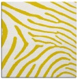 rug #472085 | square yellow stripes rug