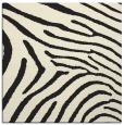 rug #472093 | square black animal rug