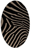 rug #472150 | oval stripes rug